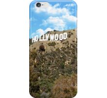 Hollywood Signe iPhone Case/Skin