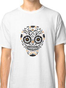 Sugar Skull SF -  on white Classic T-Shirt