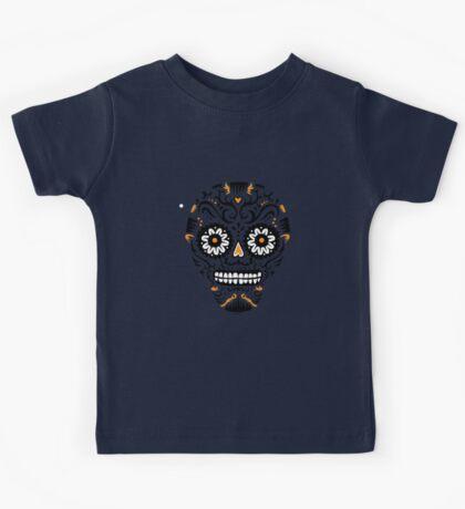 Sugar Skull SF -  on white Kids Clothes