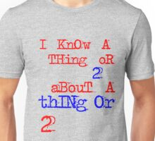thing or 2 Unisex T-Shirt