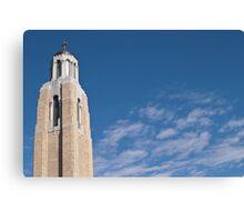 Church Bell Tower Canvas Print