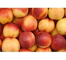 Nectarines At Market Photographic Print
