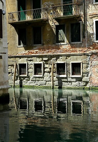 Venice-canal living by hans p olsen