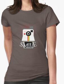 Smile For The Camera Womens Fitted T-Shirt
