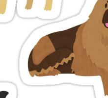 Dog Breeds (three) Sticker