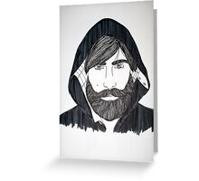 Jason Schwartzman Greeting Card
