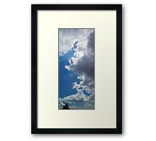 ©HCS Cloudscape And Tree Vertical Framed Print