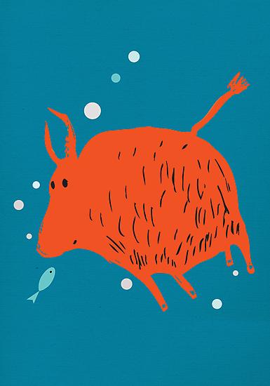 Water Buffalo Love by Carla Martell
