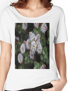 The White Dots Women's Relaxed Fit T-Shirt