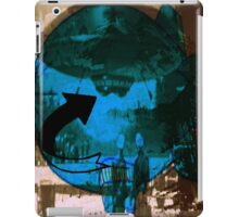 top secret UFO and air ship iPad Case/Skin