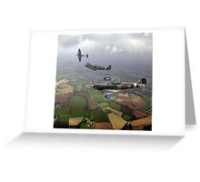 Spitfire sweep Greeting Card