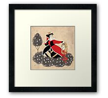 Off with Her Head! Framed Print