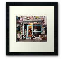 The arm chair Framed Print