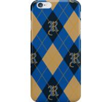 Ravenclaw Argyle iPhone Case/Skin