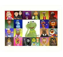 The Muppets Art Print