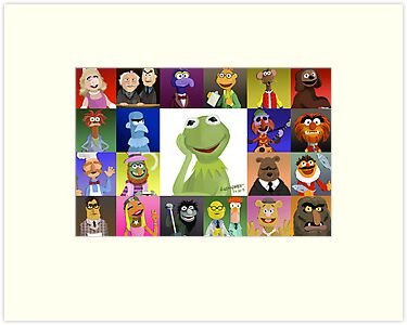 The Muppets by Adam Leonhardt