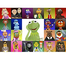 The Muppets Photographic Print