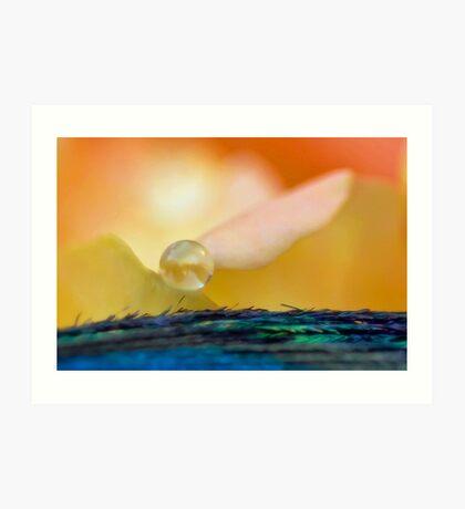 Angel of the Dawn Art Print