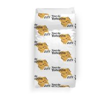 Tour de Yorkshire 2015 Route Duvet Cover