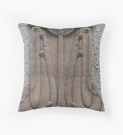 House For An Art Lover, Architectural Detail Throw Pillow