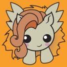 kawaii Pony Yellow/orange by AnimePlusYuma