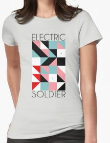 Electric Soldier: Porygon Womens Fitted T-Shirt