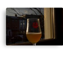 A Beer in Fells Point Canvas Print