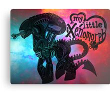 My Little Xenomorph Print Metal Print