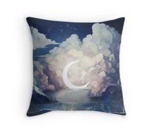 upon the sky-foam. Throw Pillow