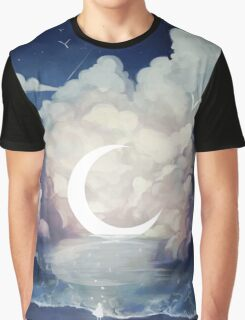 upon the sky-foam. Graphic T-Shirt