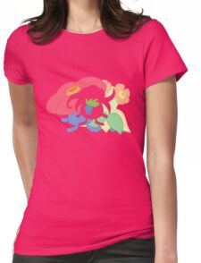 Oddish - Gloom - Vileplume + Bellossom Womens Fitted T-Shirt