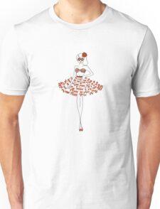 1950's Retro Guuurl Unisex T-Shirt