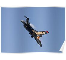 Turkish F16 Fighting Falcon Poster