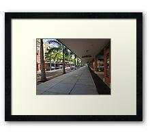 Downtown!  Framed Print