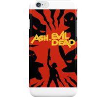 ash vs. evil dead pokemon iPhone Case/Skin