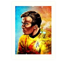 Starship Captain Art Print