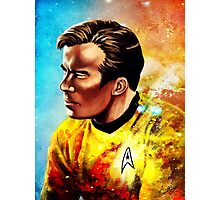 Starship Captain Photographic Print