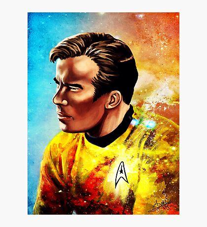 Starship Captain Photographic Print