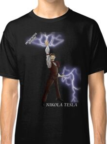 Epic Rap Battles - Nikola Tesla Classic T-Shirt