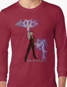 Epic Rap Battles - Nikola Tesla Long Sleeve T-Shirt