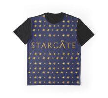 Wow Feminine Stargate Golden style Graphic T-Shirt