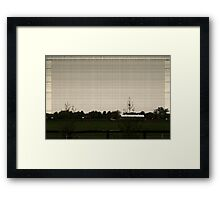 American Farmlands Framed Print