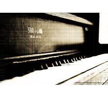 Antique Piano Photographic Print