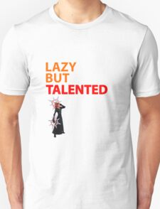 Axel Lazy but Talented White T-Shirt
