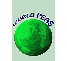 World Peas Photographic Print