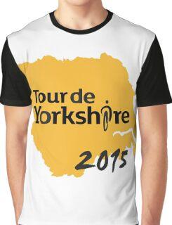 Tour de Yorkshire 2015 Graphic T-Shirt