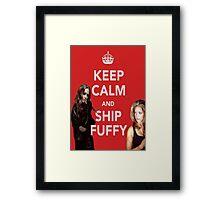 Ship Fuffy Framed Print