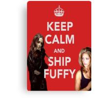 Ship Fuffy Canvas Print