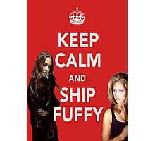 Ship Fuffy Photographic Print