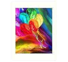 Rainbow Chaser Art Print